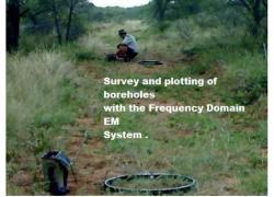 Borehole surveying .
