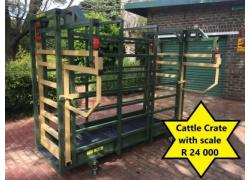 Cattle Crate with Scale