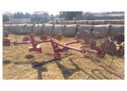 4 wheel hay rake