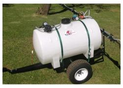 250L tow boom sprayer