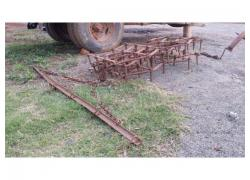 3 piece drag harrow
