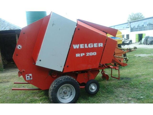 Welger RP 200 Baler
