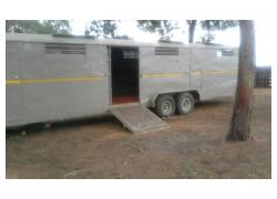 Trailer for Game or Livestock.