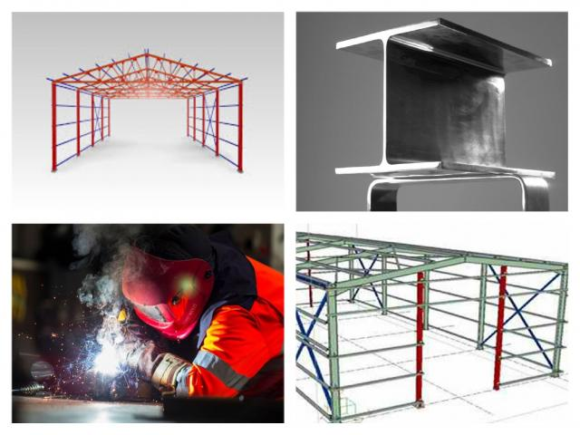 Steel structures available
